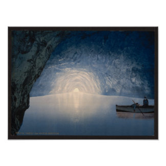 BLUE GROTTO POSTER