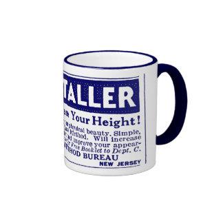 "Blue ""GROW TALLER"" Mug"