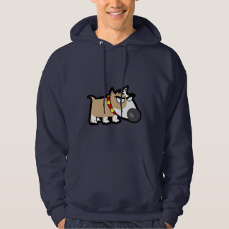 Blue Grumpy Dog Sweatshirt