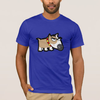 Blue Grumpy Dog T-Shirt