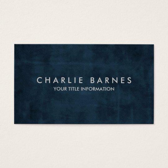 Blue Grunge Business Card