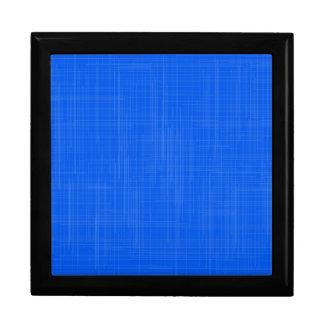 Blue Grunge Effect Background Jewelry Box