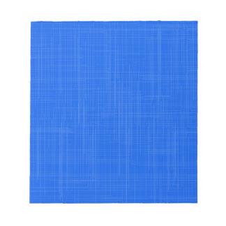 Blue Grunge Effect Background Notepad
