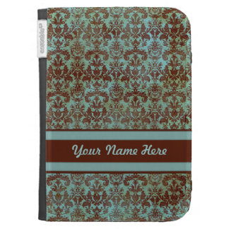 Blue Grunge Personal Kindle Cover