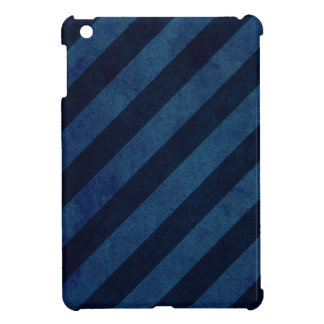Blue Grunge Stripes iPad Mini Case