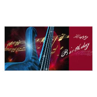 Blue Guitar Card