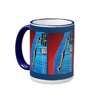 Blue Guitar Mug