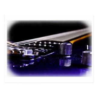 Blue Guitar Postcard