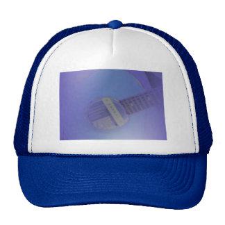 Blue Guitar Trucker Hat