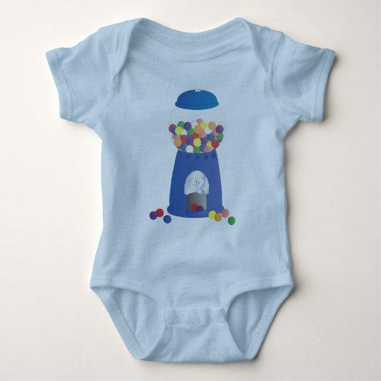 Blue Gumball Machine Baby Bodysuit