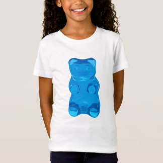 Blue Gummybear Illustration T-Shirt