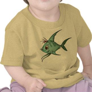 Blue Guppy Fish Tshirt