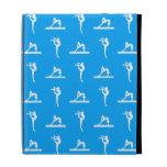 Blue Gymnastics iPad Folio Case