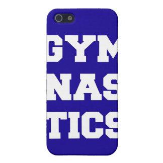 Blue Gymnastics iPhone Case