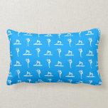 Blue Gymnastics Pillow