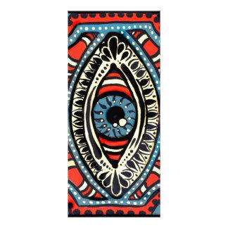 Blue Gypsies Eye Announcement Rack Card
