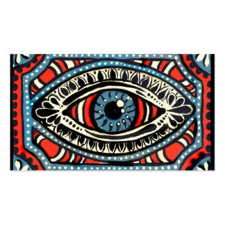 Blue Gypsies Eye Double-Sided Standard Business Cards (Pack Of 100)
