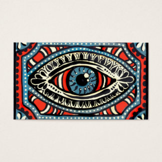Blue Gypsies Eye Business Card