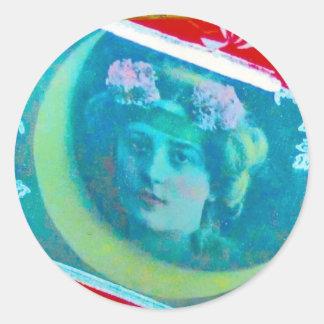 Blue Gypsy Moon Sticker