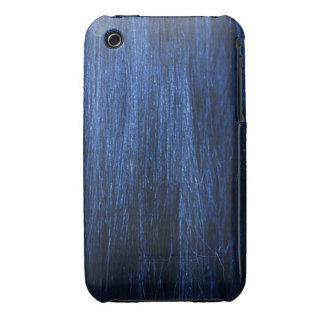 Blue Hair Texture Case-Mate iPhone 3 Case