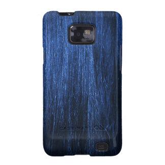 Blue Hair Texture Galaxy S2 Case