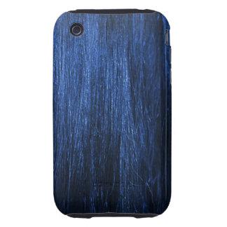 Blue Hair Texture iPhone 3 Tough Case