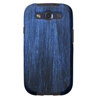 Blue Hair Texture Samsung Galaxy SIII Cover
