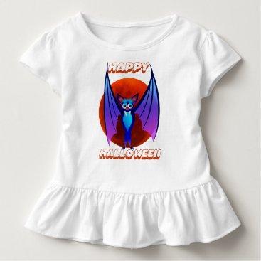 Halloween Themed Blue Halloween Bat~ Toddler T-shirt