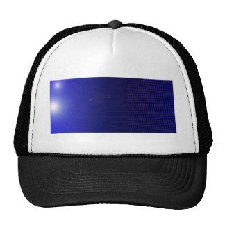 blue halo casquettes