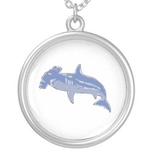 Blue Hammerhead necklace