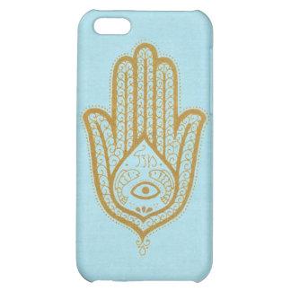 Blue Hamsa Case For iPhone 5C