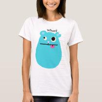 Blue Hamster T-Shirt