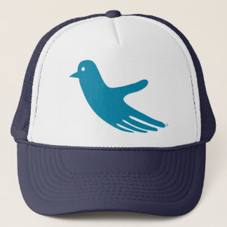 Blue HandBird hat
