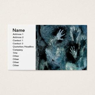 Blue Hands Business Card