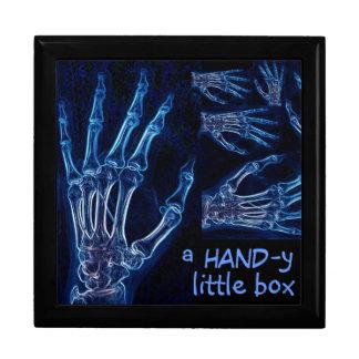 "Blue Hands X-ray ""Handy Little Box"" gift box"