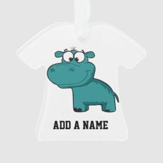 Blue Happy Hippo