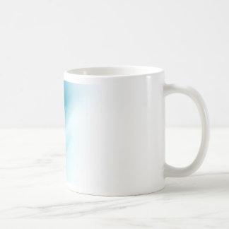 Blue Happy New Year Background Classic White Coffee Mug