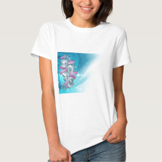 Blue Happy New Year Background Tees