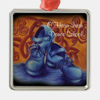 Blue Hard Shoes Ornament