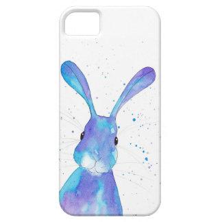 Blue Hare I phone Case