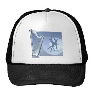 Blue Harp Mesh Hat