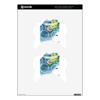 blue hat lady Brides Maid Art Xbox 360 Controller Decal