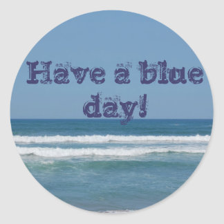 Blue Have to day sticker/to sticker