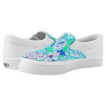 Blue Hawaii Women's Zipz Slip On Shoes