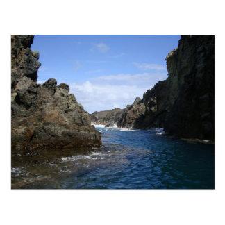 Blue Hawaiian Cove 2 Postcard
