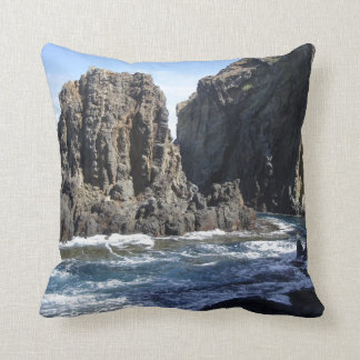 Blue Hawaiian Cove Pillow