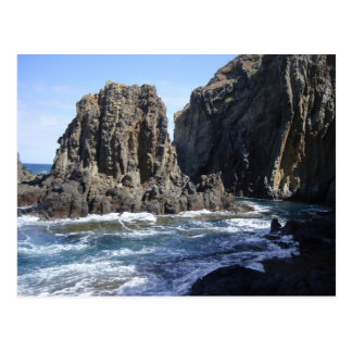 Blue Hawaiian Cove Postcard
