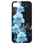 Blue Hawaiian Hibiscus iPhone 5 Case