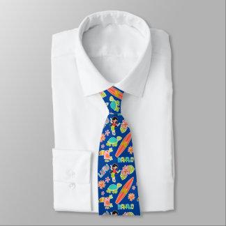 Blue Hawaiian Images Tie