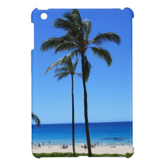 Blue Hawaiian Skies and Palm Tree Case For The iPad Mini